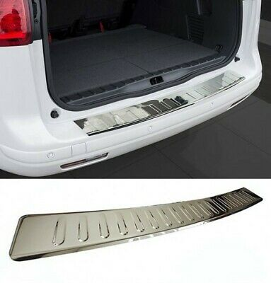 For Volvo XC-60 Facelift 2014+ Rear Bumper Protector Guard  Cover Chrome Sill • 35.85£