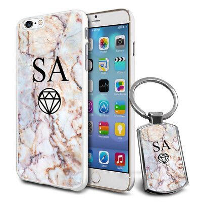 Personalised Strong Case Cover & Personalised Keyring For Mobiles - Q07 • 6.79£