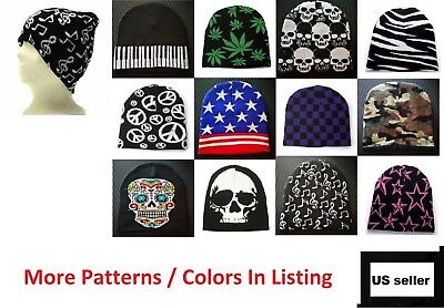 6f4c675eb77c05 Beanie Plain Knit Ski Cap Hat Skull Warm Winter Colors Unisex Men Woman  Beany • 7.88