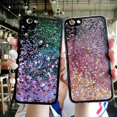 AU5.99 • Buy For Various Phone Case Cover HOT Glitter Stars Dynamic Quicksand Soft Back Skins