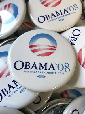 $2.49 • Buy 2008 Barack Obama Official Presidential Campaign Original Buttons Pins New
