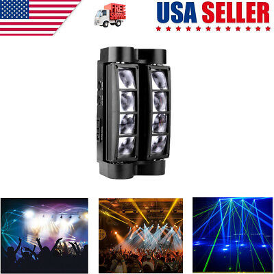 2019 RGBW DJ Spider Moving Head Stage Lighting 80W Beam LED Disco Party Lights • 48.40$