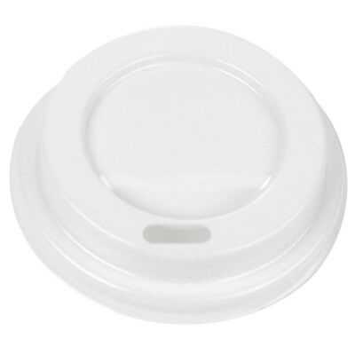 AU31.72 • Buy 4 Oz Coffee Cup Lids - White Plastic Disposable Drinking Lids - Hot Cup Factory