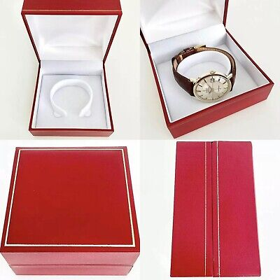 $ CDN25.56 • Buy Classic Red Watch Box For Vintage Omega, Longines, Cartier, Rolex, Seiko