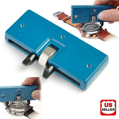 $ CDN7.24 • Buy Adjustable Rectangle Watch Back Case Cover Opener Remover Wrench Repair Kit Tool