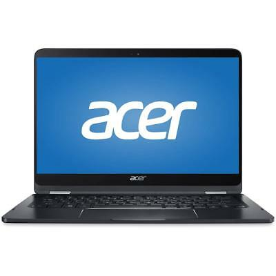Acer Spin 7 14  Full HD Touchscreen Notebook, I7-7Y75, 256GB SSD, 8GB RAM, W10H