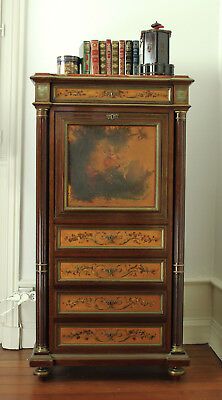 £9908.28 • Buy Stunning Louis XV, XVI Style French Antique Secretaire Writing Desk, 19th Cent.