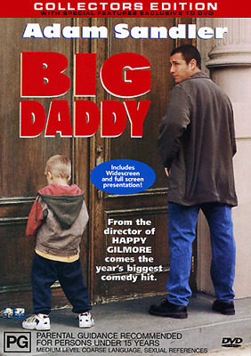 AU10.99 • Buy Adam Sandler BIG DADDY - COLLECTORS EDITION DVD (NEW & SEALED)