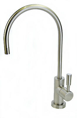 £24.99 • Buy Luxury Water Filter Tap Faucet With Brushed Nickel Finish For Drinking Water, RO