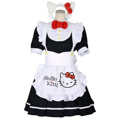 $87.99 • Buy NEW Hello Kitty X 8mm Cosplay Maid One Piece Sanrio F/S From Japan
