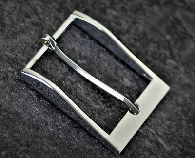 Replacement Buckle For Belt Tofit Men Silver Brass Grey Metal Formal  38,40,41mm • 3.99£