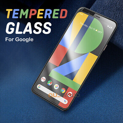 AU4.95 • Buy 2x Pixel 5 4a 4 3 3a 2 XL 9H Premium Tempered Glass Screen Protector For Google