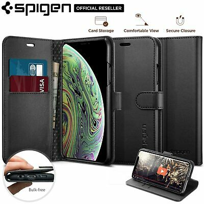 AU44.99 • Buy [FREE EXPRESS] IPhone X XS Case, Spigen Flip View Wallet S Stand Cover For Apple