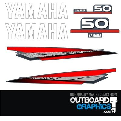 AU65.51 • Buy Yamaha 50hp 2 Stroke Outboard Decals/sticker Kit