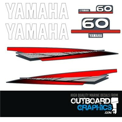 AU65.51 • Buy Yamaha 60hp 2 Stroke Outboard Decals/sticker Kit
