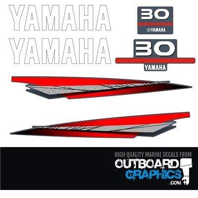 AU61.32 • Buy Yamaha 30hp 2 Stroke Outboard Decals/sticker Kit