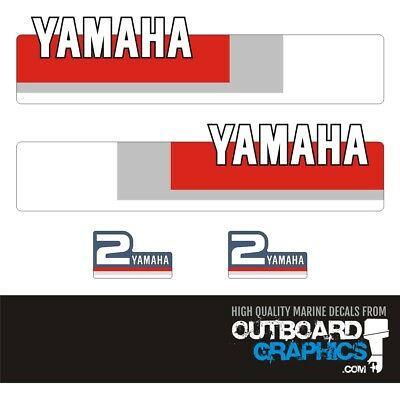 AU49.51 • Buy Yamaha 2hp 2 Stroke Outboard Decals/sticker Kit