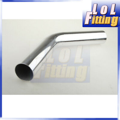 AU42 • Buy 4  102mm 45 Degree Aluminum Turbo Intercooler Pipe Piping Tube Tubing L=610mm