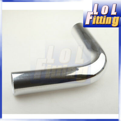 AU45.50 • Buy 4  Inch 90 Degree Aluminum Turbo Intercooler Pipe Piping Tube Tubing L=610mm