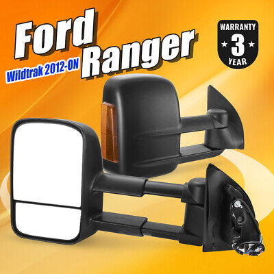 AU339.99 • Buy Extendable Towing Mirrors For Ford Ranger PX PX2 XL XLT Wildtrak 2012 -UP