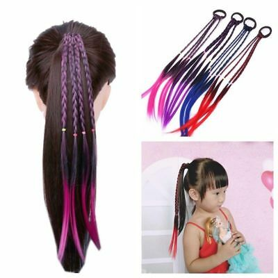 $ CDN2.99 • Buy Headband Girls Twist Braid Rope Simple Rubber Band Hair Accessories Kids Wig /bw