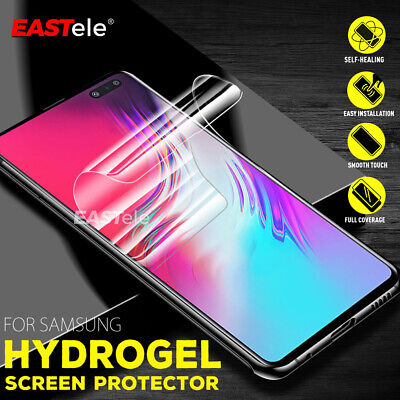 AU4.95 • Buy For Amsung Galaxy S10 5G S9 S8 Plus Note 10+ 5G 9 HYDROGEL Screen Protector