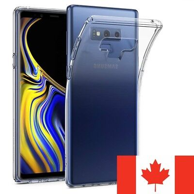 $ CDN4.95 • Buy For Samsung Galaxy Note 9 Case - Clear Thin Soft TPU Silicone Back Cover