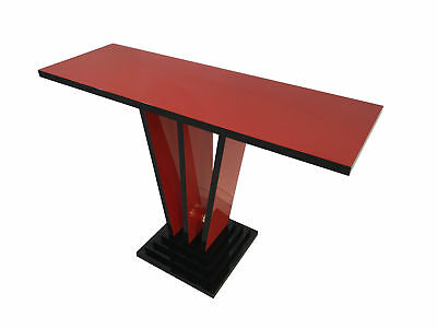 AU4276.07 • Buy Red And Black Art Deco Design Console Table