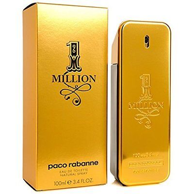 $ CDN76.13 • Buy 1 One Million By Paco Rabanne 3.3 / 3.4 Oz EDT Spray NIB Sealed Cologne For Men
