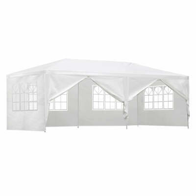 AU112.79 • Buy Instahut Gazebo 3x6m Outdoor Marquee Side Wall Party Wedding Tent Camping White