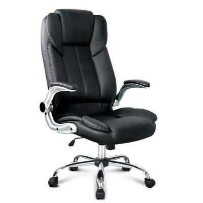 AU160.95 • Buy PU Leather Executive Office Desk Chair - Black