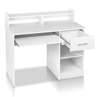 AU179.95 • Buy Artiss Office Computer Desk With Storage - White