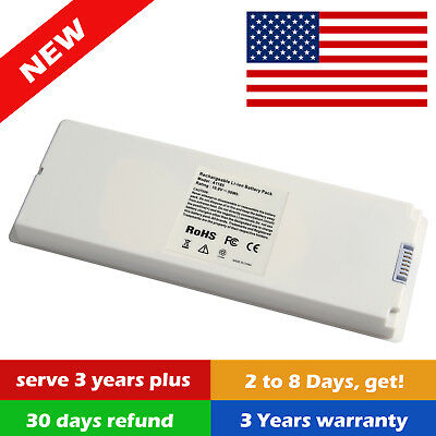 $20.95 • Buy A1185 For Apple MacBook A1181 White Rechargeable Battery Cycle Count O