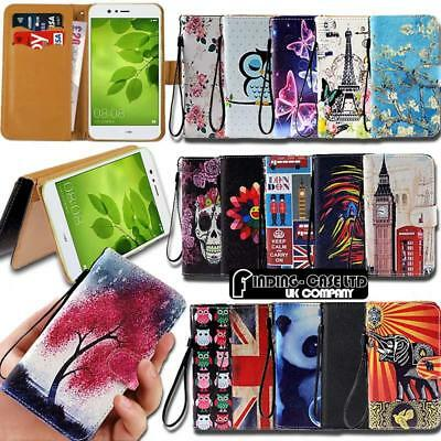 For Huawei Honor 6 7 8 9 SmartPhones Leather Smart Stand Wallet Case Cover • 3.99£