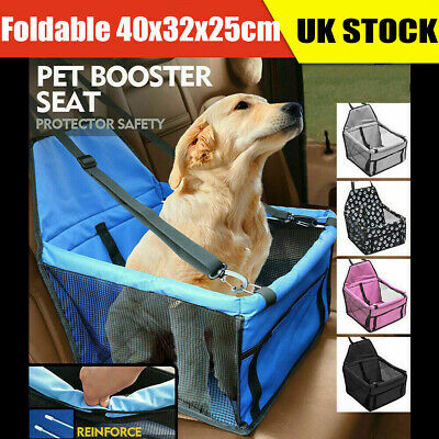 £13.99 • Buy Large Pet Car Booster Seat Puppy Cat Dog Carrier Travel Protector Safety Basket