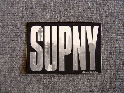 $ CDN46.67 • Buy 100% Authentic Supreme New York  SUPNY  Sticker DKNY Tribute Large & Small Strip