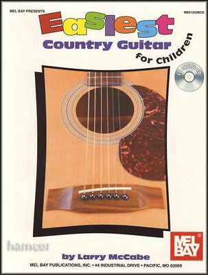 Easiest Country Guitar For Children TAB Music Book/CD • 13.83£