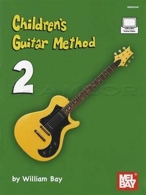 Children's Guitar Method 2 Music Book With Online Video Learn How To Play • 13.83£