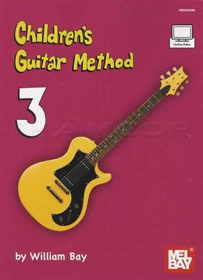 Children's Guitar Method 3 Music Book With Video Learn How To Play Method Kids • 13.83£
