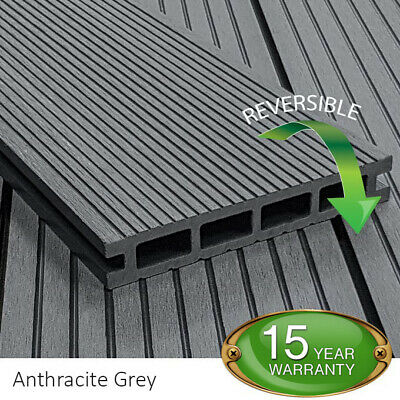£16.78 • Buy Composite WPC Decking Boards 2.2m 4 Colours Available From Tough Decking