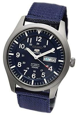$ CDN204.57 • Buy Seiko 5 SNZG11K1 Military Automatic Sports 41.5mm  Men's Watch