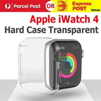AU5.90 • Buy 40mm/44mm Clear Ultra Full Case Cover Screen Protector For Apple Watch Series 4