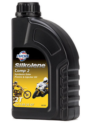 Silkolene Ester Based Semi Synth Motorcycle Engine Oil COMP-2 1L Bottle • 13.95£