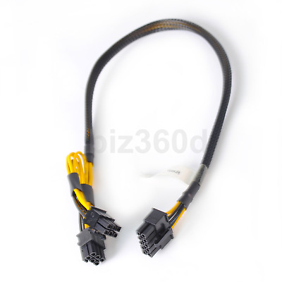 $ CDN21.11 • Buy 10pin To 6+6pin Power Cable For HP DL380 G8 And NVIDIA Quadro K6000 GPU 50cm
