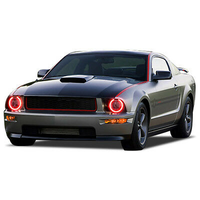 $89.40 • Buy Ford Mustang 05-09 CHS Multi-Color LED Headlight Halo Ring Kit