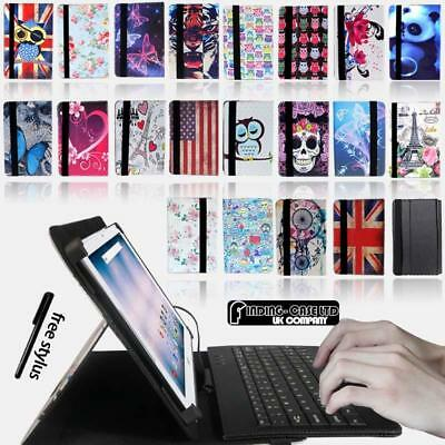 Leather Stand Cover Case + Micro USB Keyboard For Various 10  Acer Iconia Tablet • 8.99£