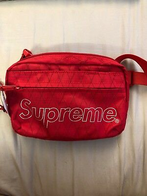 $ CDN195.51 • Buy Supreme Shoulder Bag FW18 Red BRAND NEW