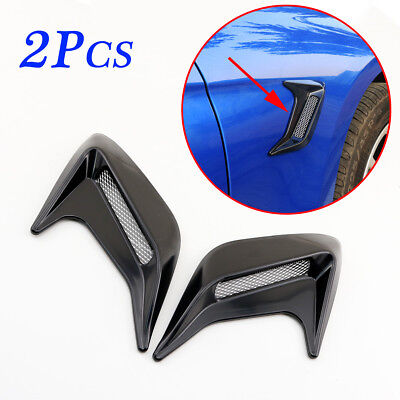 $ CDN12.53 • Buy Vehicle Side Door Wing Fender Simulation Air Vent Cover Sticker Moulding Parts