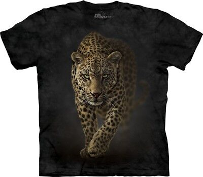 £24.99 • Buy The Mountain Unisex Adult Savage Leopard Animal T Shirt