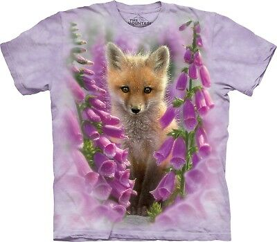 £24.99 • Buy The Mountain Unisex Adult Foxgloves Animals T Shirt